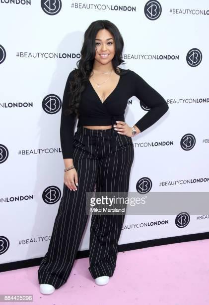 Jordyn Woods attends Beautycon Festival 2017 at Olympia London on December 2 2017 in London England