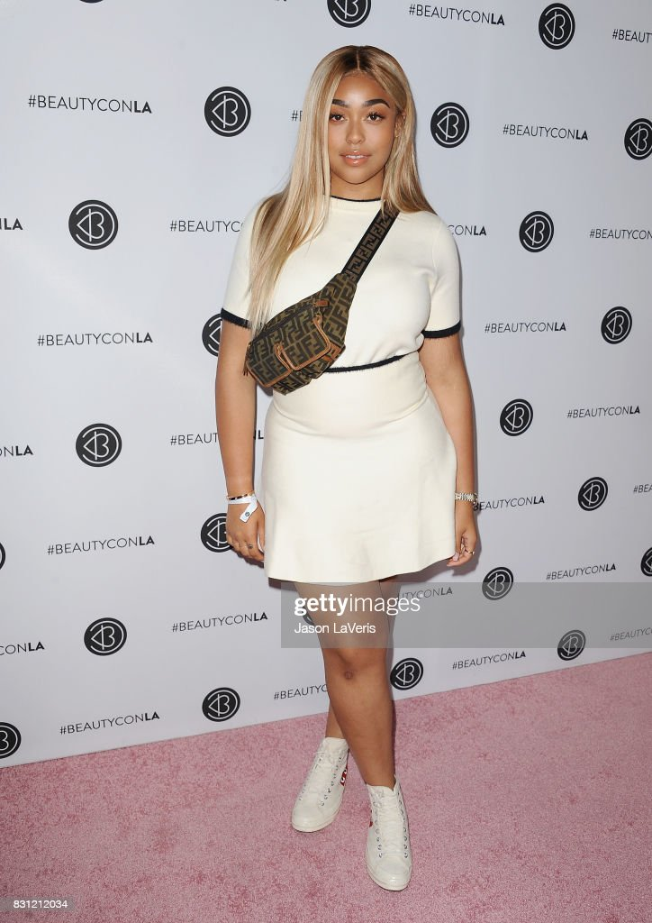 Jordyn Woods attends the 5th annual Beautycon festival at Los Angeles Convention Center on August 13, 2017 in Los Angeles, California.