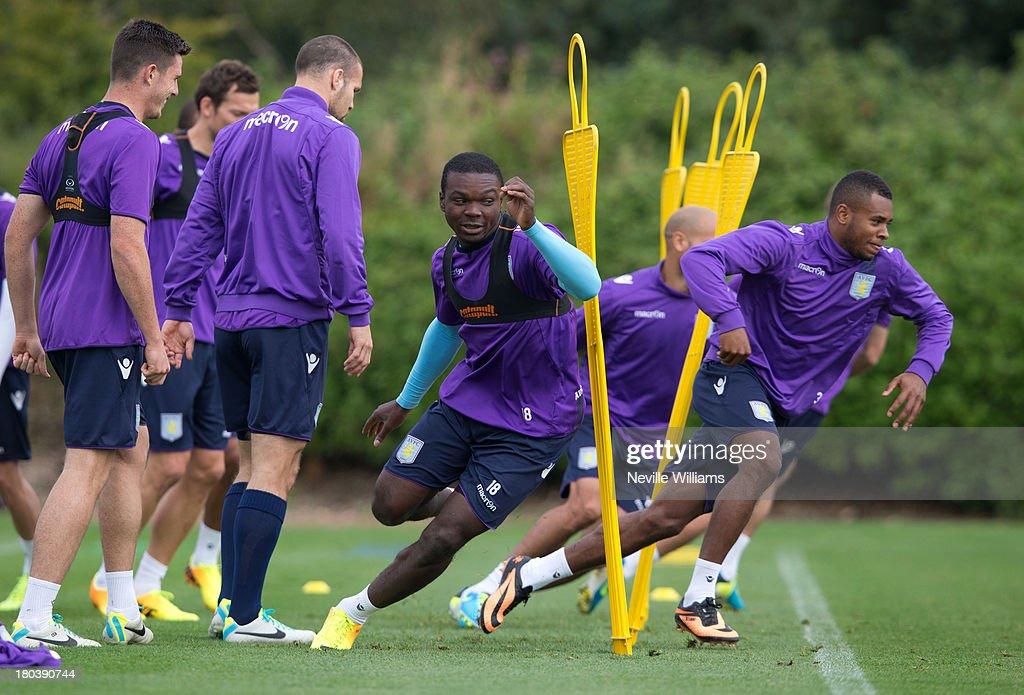 Aston Villa Training