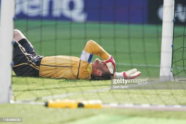 Jorg STIEL of Switzerland looks dejected during the European Championship match between England and Switzerland at Estadio Cidade de Coimbra,...