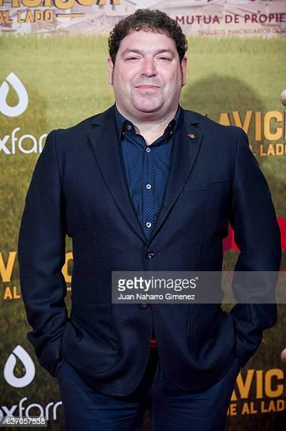 Jorge Asin attends 'Villaviciosa De Al Lado' premiere at Capitol Cinema on December 1 2016 in Madrid Spain