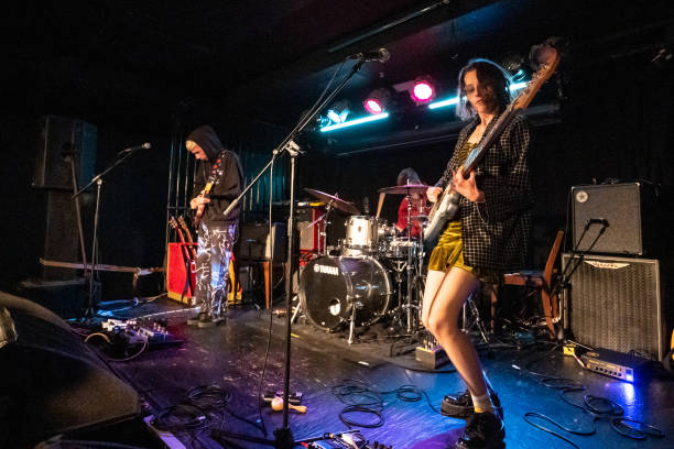 GBR: Echobelly Performs At O2 Academy Islington, London