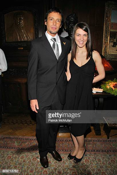 Jorge Bendersky and Heather Huctema attend LIVING BEYOND BELIEF Benefit in Honor of KENNETH COLE at National Arts Club on February 9 2007 in New York...