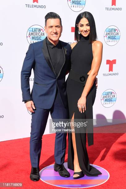 Jorge Bernal and Karla Birbragher attend the 2019 Latin American Music Awards at Dolby Theatre on October 17 2019 in Hollywood California