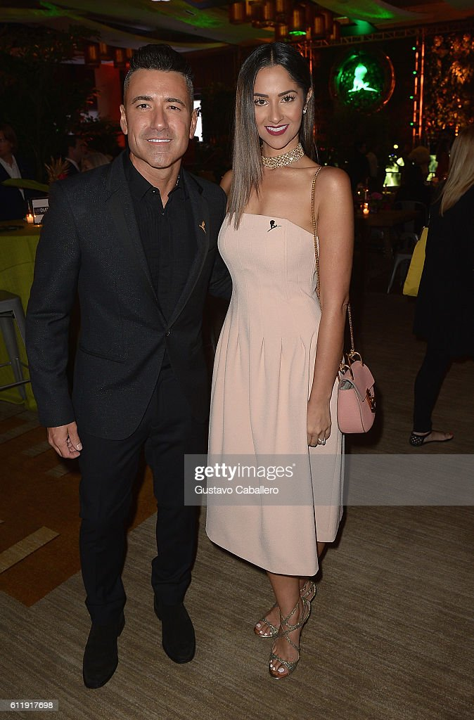 Jorge Bernal and Karla Birbragher attends the 9th Annual International Dermatology 'It's All About the Kids' Benefit at JW Marriott Marquis on October 1, 2016 in Miami, Florida.