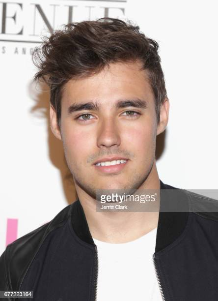 Jorge Blanco attends NYLON's Annual Young Hollywood May Issue Event With Cover Star Rowan Blanchard at Avenue on May 2 2017 in Los Angeles California