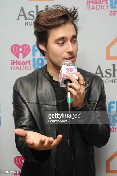 Jorge Blanco attends the iHeartRadio Fiesta Latina Celebrating Our Heroes at American Airlines Arena on November 4 2017 in Miami Florida