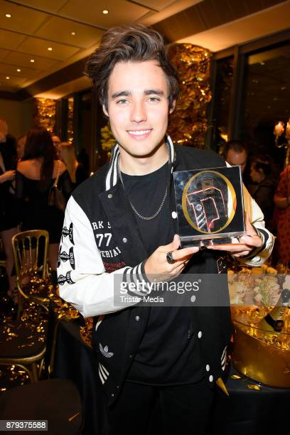 Jorge Blanco attends the Place To B Influencer Award at Axel Springer Haus on November 25 2017 in Berlin Germany