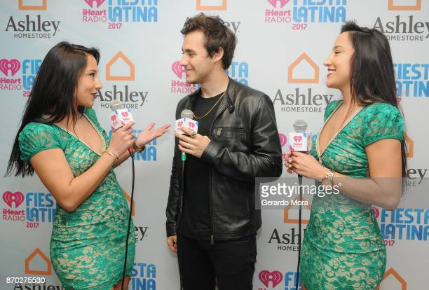 Jorge Blanco Lulu and Lala attend the iHeartRadio Fiesta Latina Celebrating Our Heroes at American Airlines Arena on November 4 2017 in Miami Florida