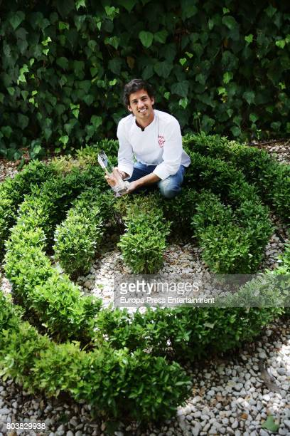 Jorge Brazalez the winner of TV MasterChef poses for a photo session on June 29 2017 in Madrid Spain