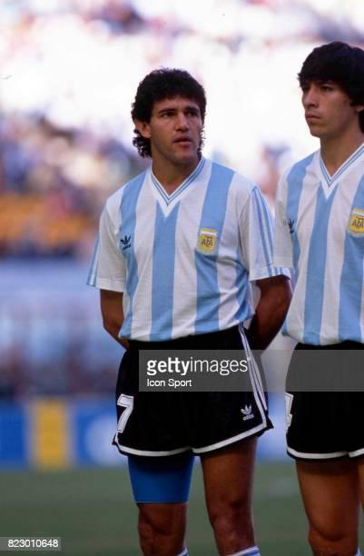 Jorge BURRUCHAGA Match d'ouverture Cameroun / Argentine Coupe du Monde 1990