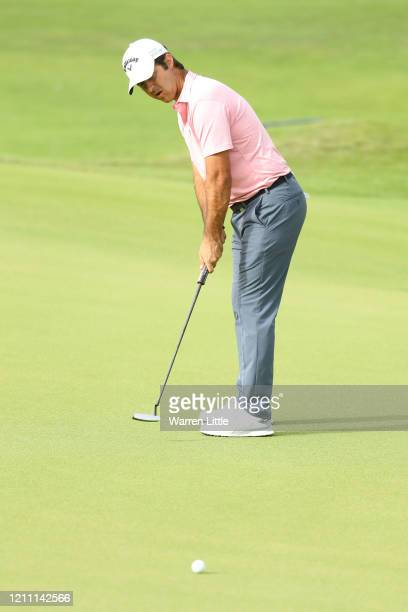 Jorge Campillo of Spain putts on the 15th green during Day 4 of the Commercial Bank Qatar Masters at Education City Golf Club on March 08 2020 in...