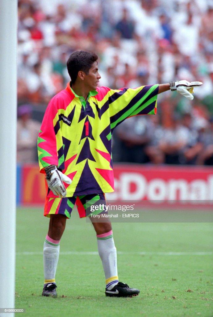 Jorge Campos Mexico Goalkeeper Nachrichtenfoto Getty Images