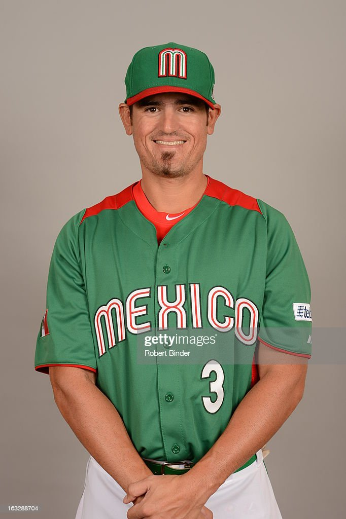 World Baseball Classic - Team Mexico Head Shots