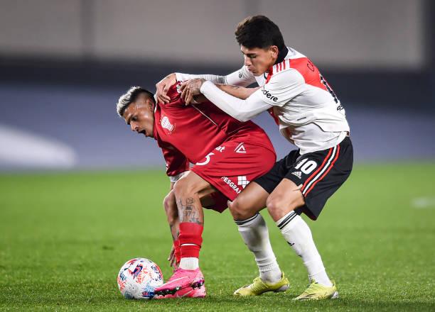 ARG: River Plate v Huracan - Torneo Liga Profesional 2021