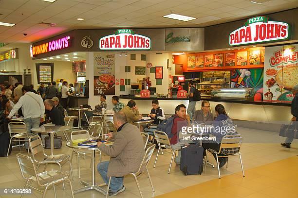 Jorge Chˆvez International Airport food court