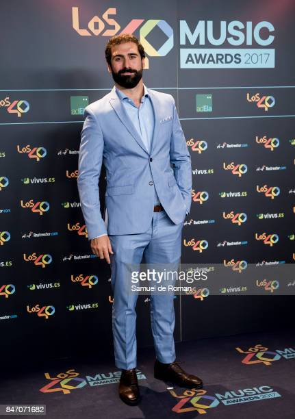 Jorge Cremades attends 40 Principales Awards candidates dinner 2017 on September 14 2017 in Madrid Spain