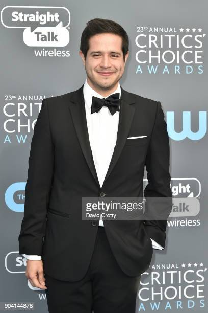 Jorge Diaz attends The 23rd Annual Critics' Choice Awards Arrivals at The Barker Hanger on January 11 2018 in Santa Monica California
