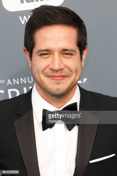 Jorge Diaz attends the 23rd Annual Critics' Choice Awards at Barker Hangar on January 11 2018 in Santa Monica California