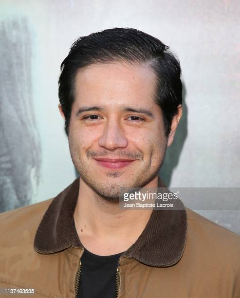 Jorge Diaz attends the premiere of Warner Bros' 'The Curse Of La Llorona' at the Egyptian Theatre on April 15 2019 in Hollywood California