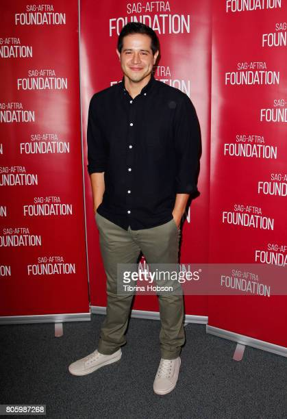 Jorge Diaz attends the SAGAFTRA Foundation Voiceover Lab Panel at SAGAFTRA Foundation Screening Room on June 29 2017 in Los Angeles California