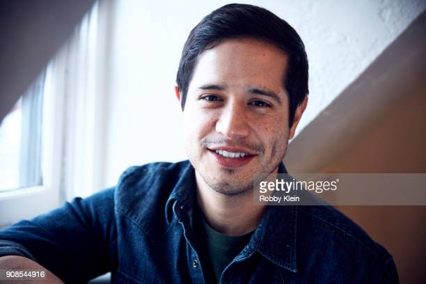 Jorge Diaz from the film 'High Mighty' poses for a portrait in the YouTube x Getty Images Portrait Studio at 2018 Sundance Film Festival on January...