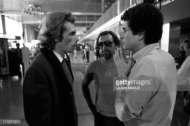 Jorge Donn, Maurice Bejart, Claude Lelouch in Paris, France in 1980.