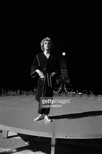 Jorge Donn of film Each Other in Paris France in 1980