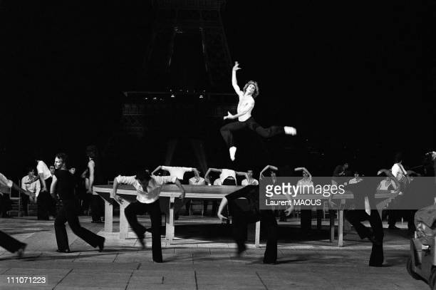 Jorge Donn of film Each Other in Ravel's Bolero in Paris France in 1980