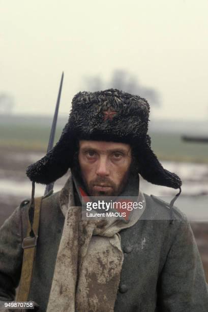 Jorge Donn sur le tournage du film 'Les uns et les autres' de Claude Lelouch, en 1981, en France et aux Etats-Unis.