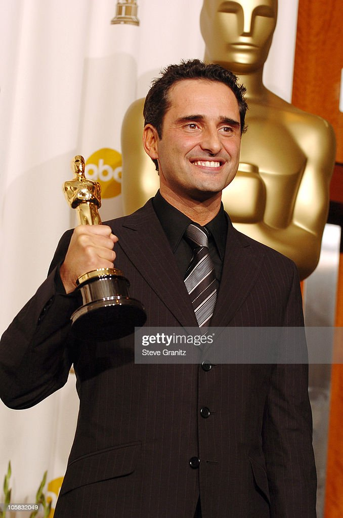 Jorge Drexler, winner Best Song for 'Al Otro Lado Del Rio' from 'The Motorcycle Diaries'