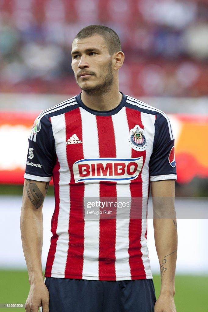 Jorge Enríquez Of Chivas Poses Prior A Match Between ...