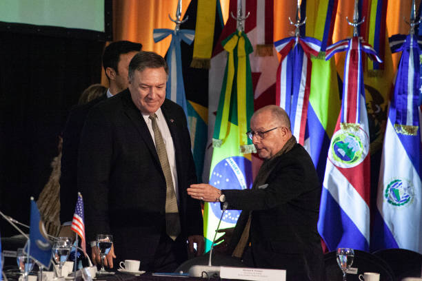ARG: Foreign Affairs Minister Faurie And U.S. Secretary Of State Pompeo Speak At Western Hemisphere Counterterrorism Meeting