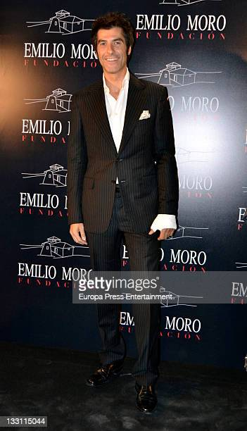 Jorge Fernandez attends a charity wine presentation by Emilio Moro Foundation at Matadero on November 16 2011 in Madrid Spain