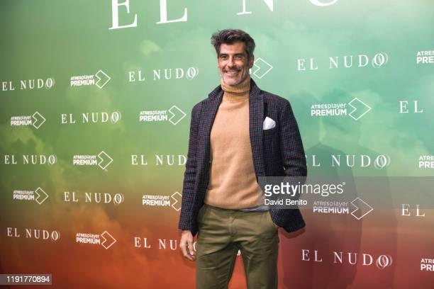 "Jorge Fernandez attends ""El Nudo"" presentation by Atresmedia on December 3, 2019 in Madrid, Spain."