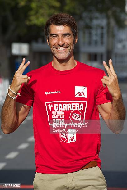 Jorge Fernandez attends the Ponle Freno popular race during day 6 of the 6th FesTVal Television Festival 2014 on September 6 2014 in VitoriaGasteiz...