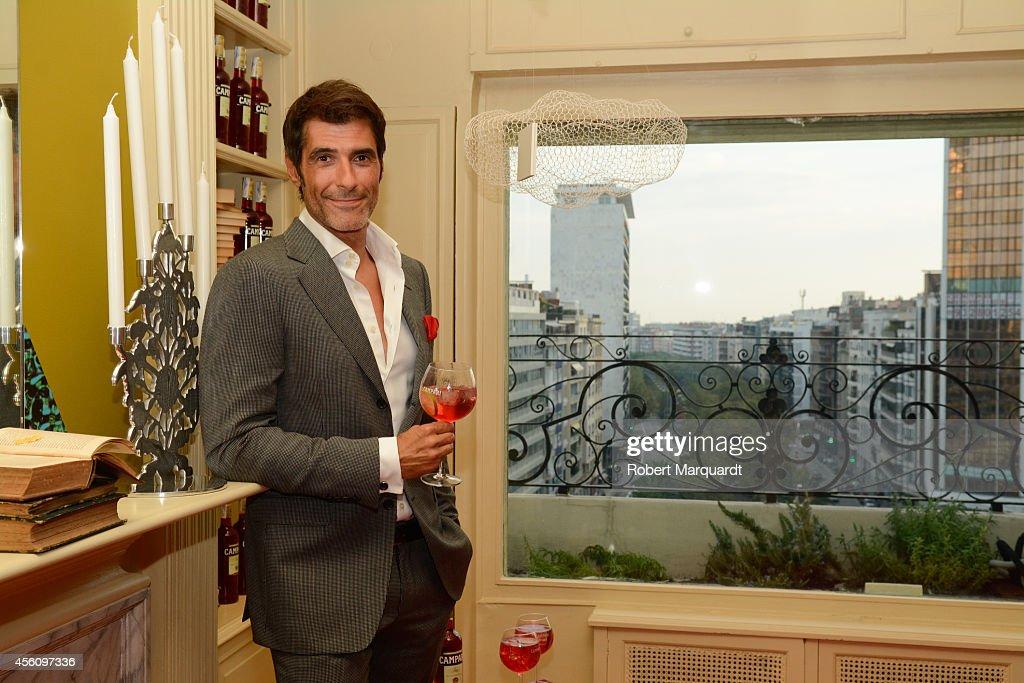 Jorge Fernandez Inaugurates 'Campari House' in Barcelona