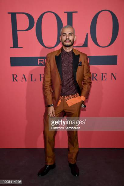 Jorge Gallegos attends the Polo Red Rush Launch Party with Ansel Elgort at Classic Car Club Manhattan on July 25 2018 in New York City