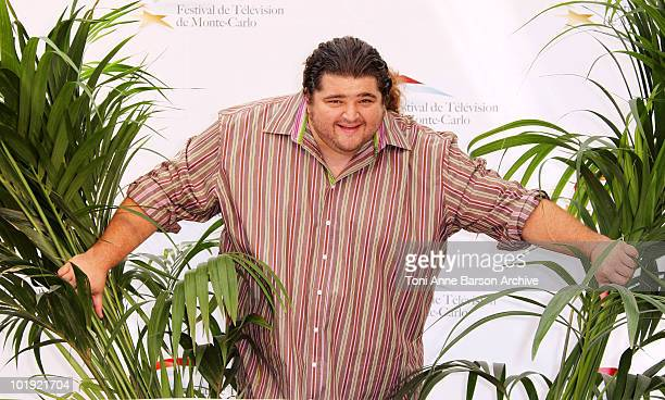 Jorge Garcia attends a photocall at the Grimaldi Forum on June 9 2010 in MonteCarlo Monaco
