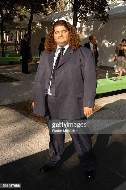 Jorge Garcia attends ABC 2005 Upfront Announcement Red Carpet Event at Lincoln Center Plaza on May 17 2005 in New York City