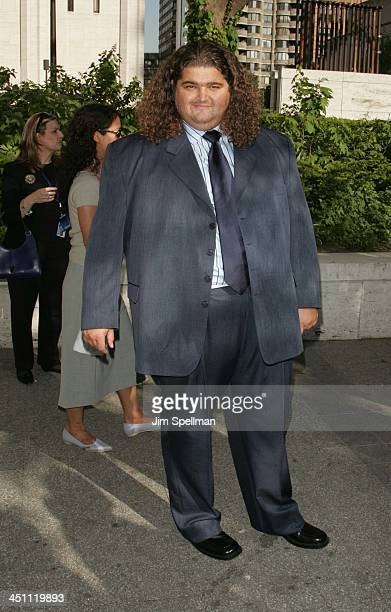 Jorge Garcia during 2005/2006 ABC UpFront Arrivals at Lincoln Center in New York City New York United States