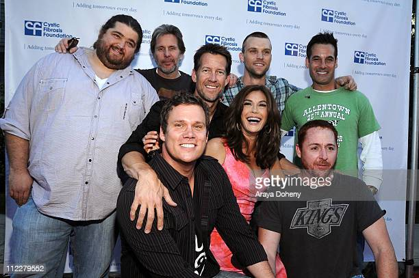 Jorge Garcia Gary Cole James Denton Bob Guiney Jesse Spencer Teri Hatcher and Scott Grimes and Adrian Pasdar attend the 'Desperate Housewives' goes...