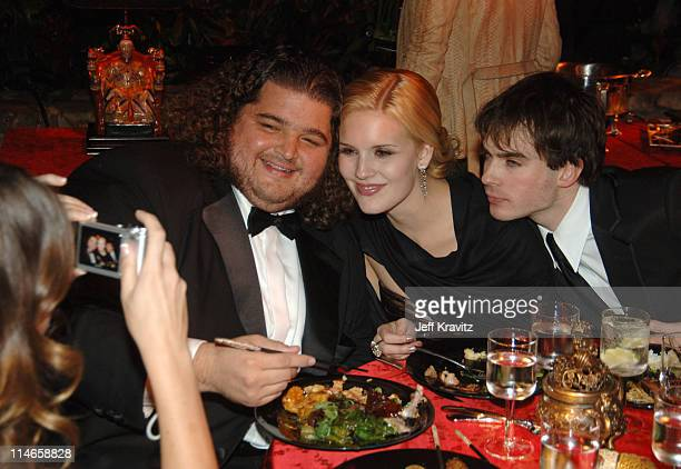 Jorge Garcia Maggie Grace and Ian Somerhalder **EXCLUSIVE COVERAGE**