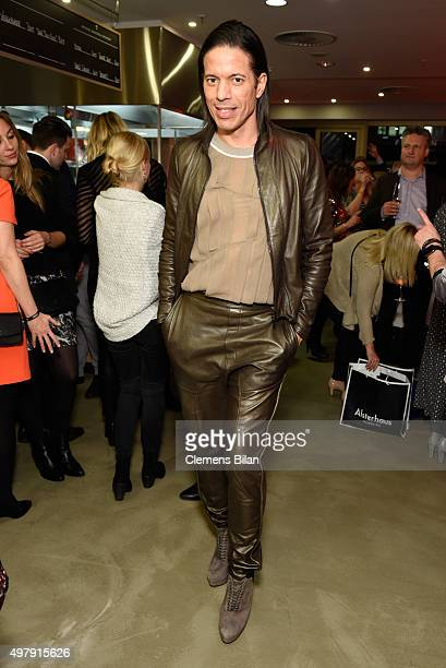 Jorge Gonzales attends GALA Christmas Shopping Night 2015 at Alsterhaus on November 19 2015 in Hamburg Germany