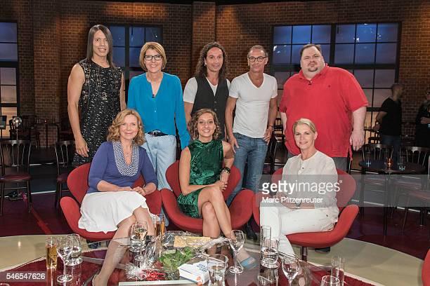 Jorge Gonzales, Bettina Boettinger, Stephan Brings, Peter Brings, Bertram Eisenhauser Marion Kracht, Deena Herr and Cornelia Poletto attend the...