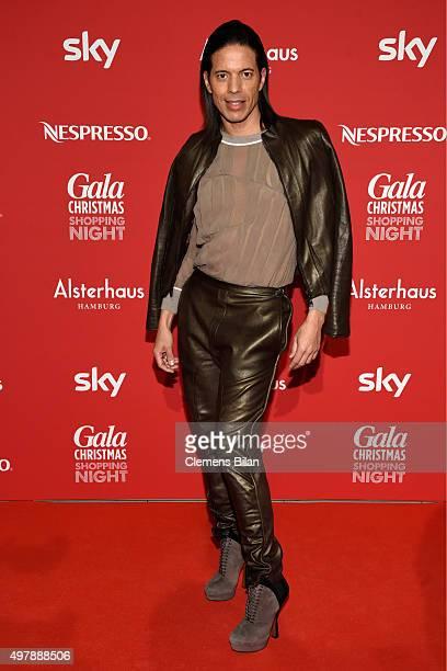 Jorge Gonzalez attends GALA Christmas Shopping Night 2015 at Alsterhaus on November 19 2015 in Hamburg Germany