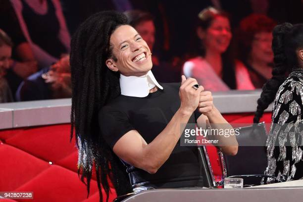Jorge Gonzalez during the 3rd show of the 11th season of the television competition 'Let's Dance' on April 6 2018 in Cologne Germany
