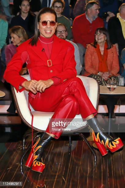 Jorge Gonzalez during the 'Markus Lanz' TV show on February 14 2019 in Hamburg Germany The show airs on February 19