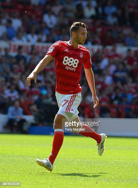 Jorge Grant of Nottingham Forest during the Sky Bet Championship match between Nottingham Forest and Burton Albion at City Ground on August 6 2016 in...