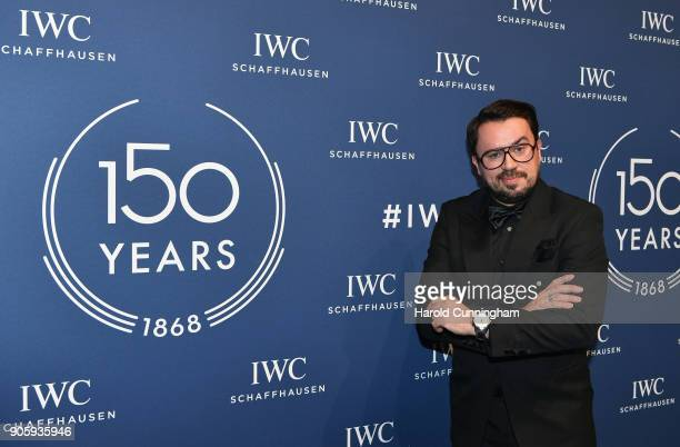 Jorge Guerreiro attends the IWC Schaffhausen Gala celebrating the Maison's 150th anniversary and the launch of its Jubilee Collection at the Salon...